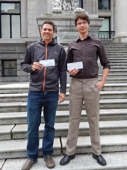 2014 Stan Rowe Award Recipients