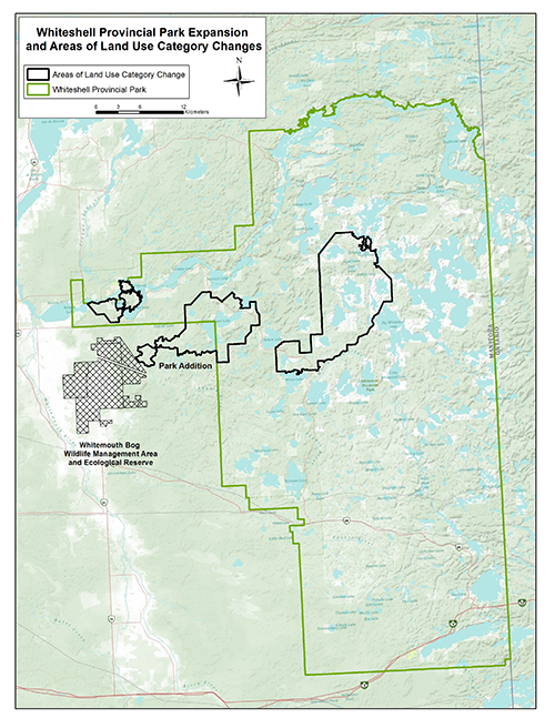 Whiteshell Manitoba Park Expansion