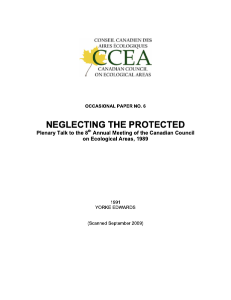 Neglecting the protected