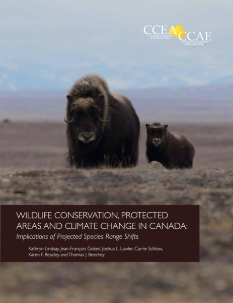 Wildlife Conservation Protected Areas and Climate Change in Canada