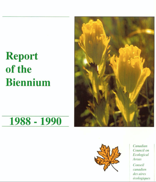 Report of the biennium 1988-1990