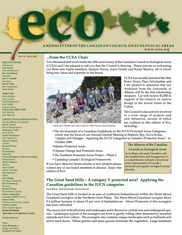 Eco May 2007